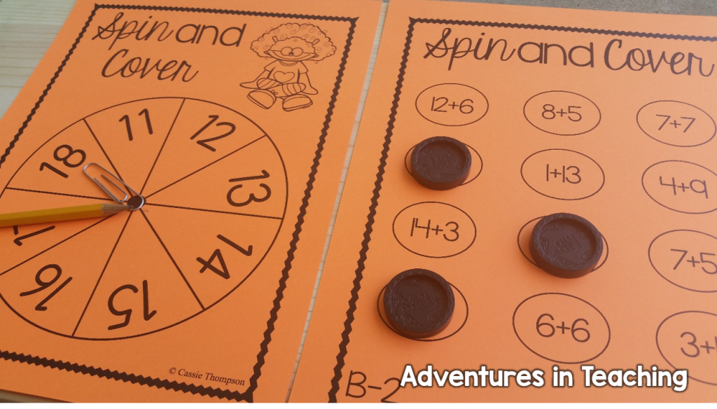 First Grade Classroom: BUILD Math Stations Buddy Games