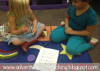 First Grade Classroom: BUILD Math Stations