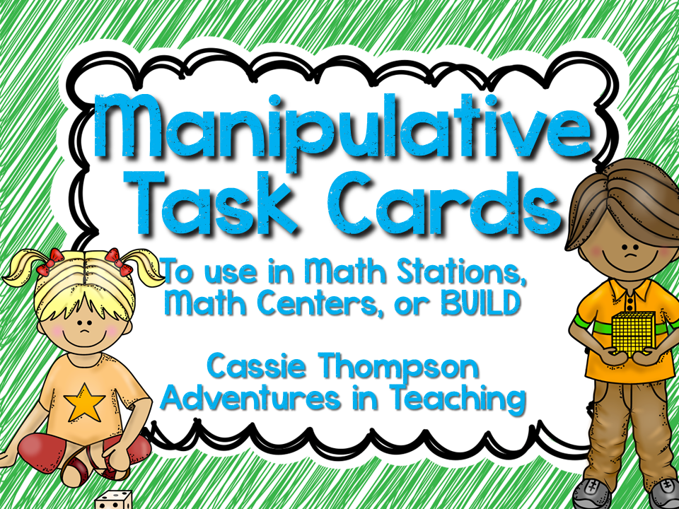 Manipulative Task Cards