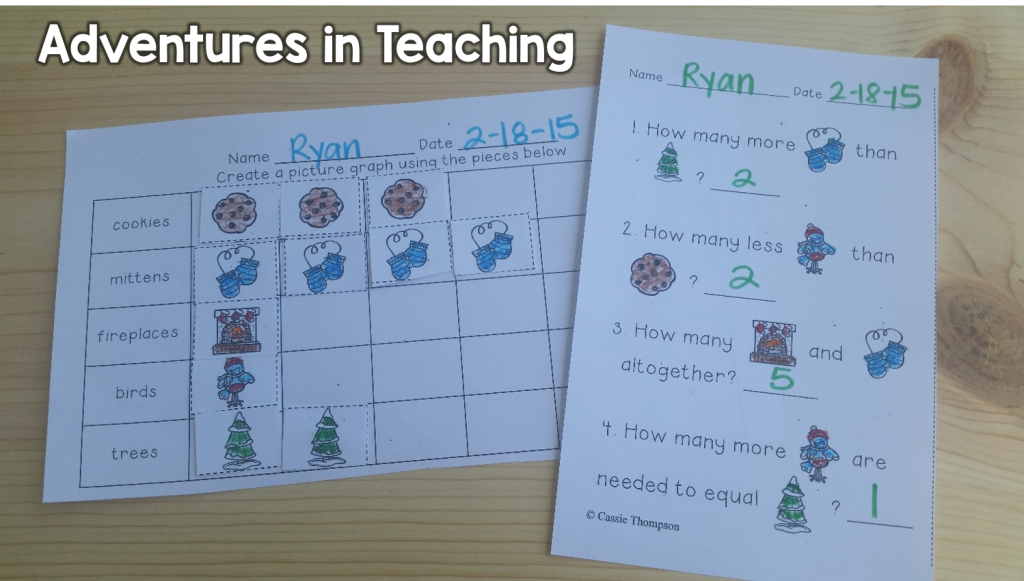First Grade Classroom: Winter Graphing
