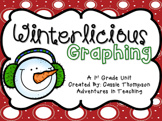 http://www.teacherspayteachers.com/Product/Winterlicious-Graphing-for-1st-Grade-1003056