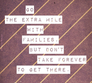 5 go the extra mile for families