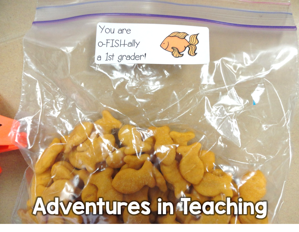 First Grade Classroom: Goodie Bag
