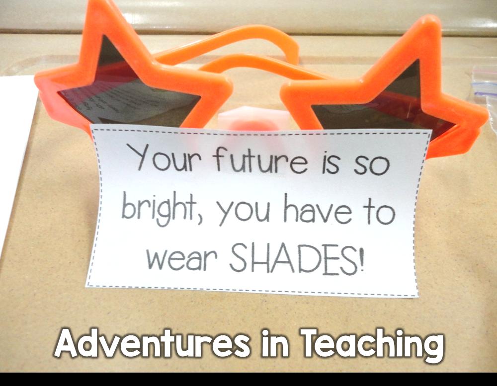 First Grade Classroom: Goodie Bag