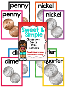 Sweet & Simple Coins Posters