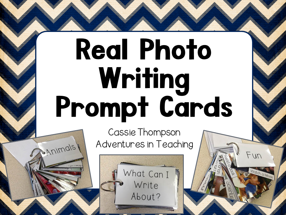 Real Photo Writing Prompt Cards Cover
